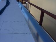 Cubierta deck nave Persan
