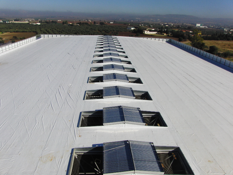 cubiertas deck en edificios no residenciales