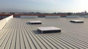 cubiertas industriales deck porcelanosa malaga