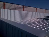 Cubierta de panel edificio ATISAE