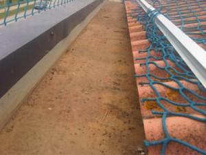 Restauración de canalon por Cubiertas diansa