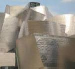 Ejemplo de fachada de sandwich in situ. Museo Guggenheim