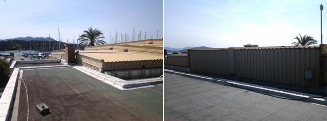 Instalación de cubiertas y fachadas
