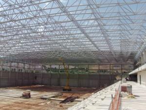 Cubiertas deck de Cubiertas Diansa en el polideportivo de Antequera