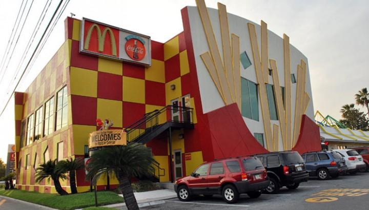 fachadas originales de mcdonald