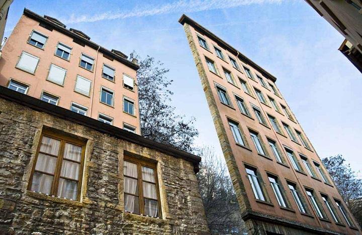 fachadas de Zacharie-Gaudrillot