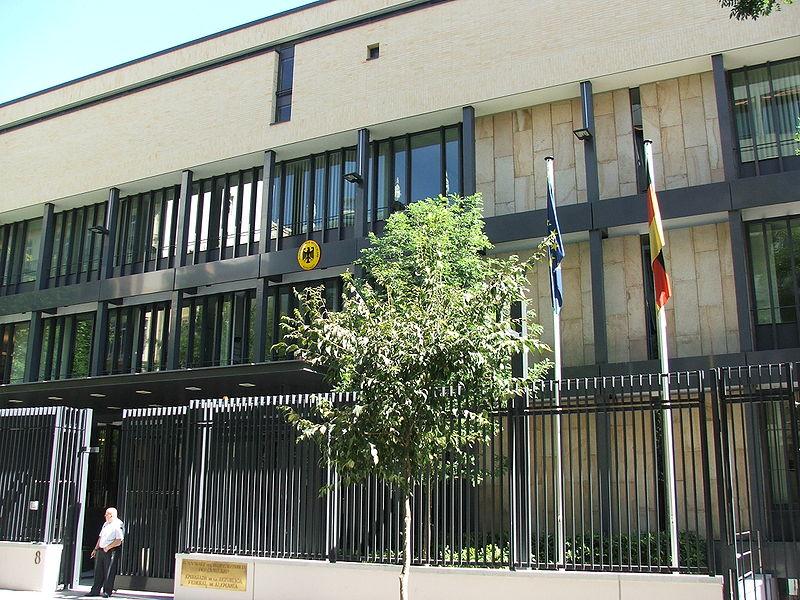 embajada madrid