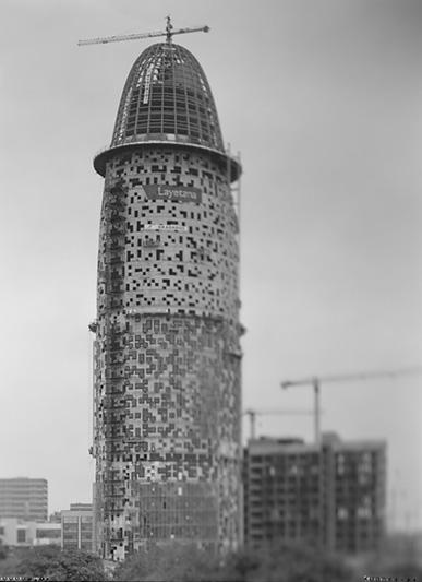 Construcción de la Torre agbar