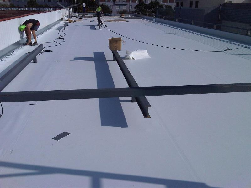 Componentes de la cubierta tipo deck