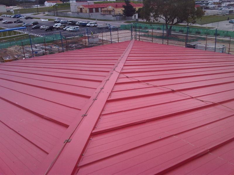 Instalacion de cubiertas panel