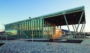 Terminal de Denia, en vidrio termodinámico.