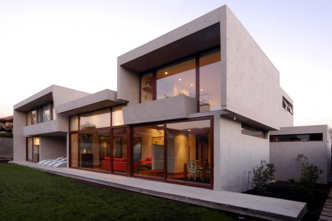 Casa fabricada mediante construcción modular
