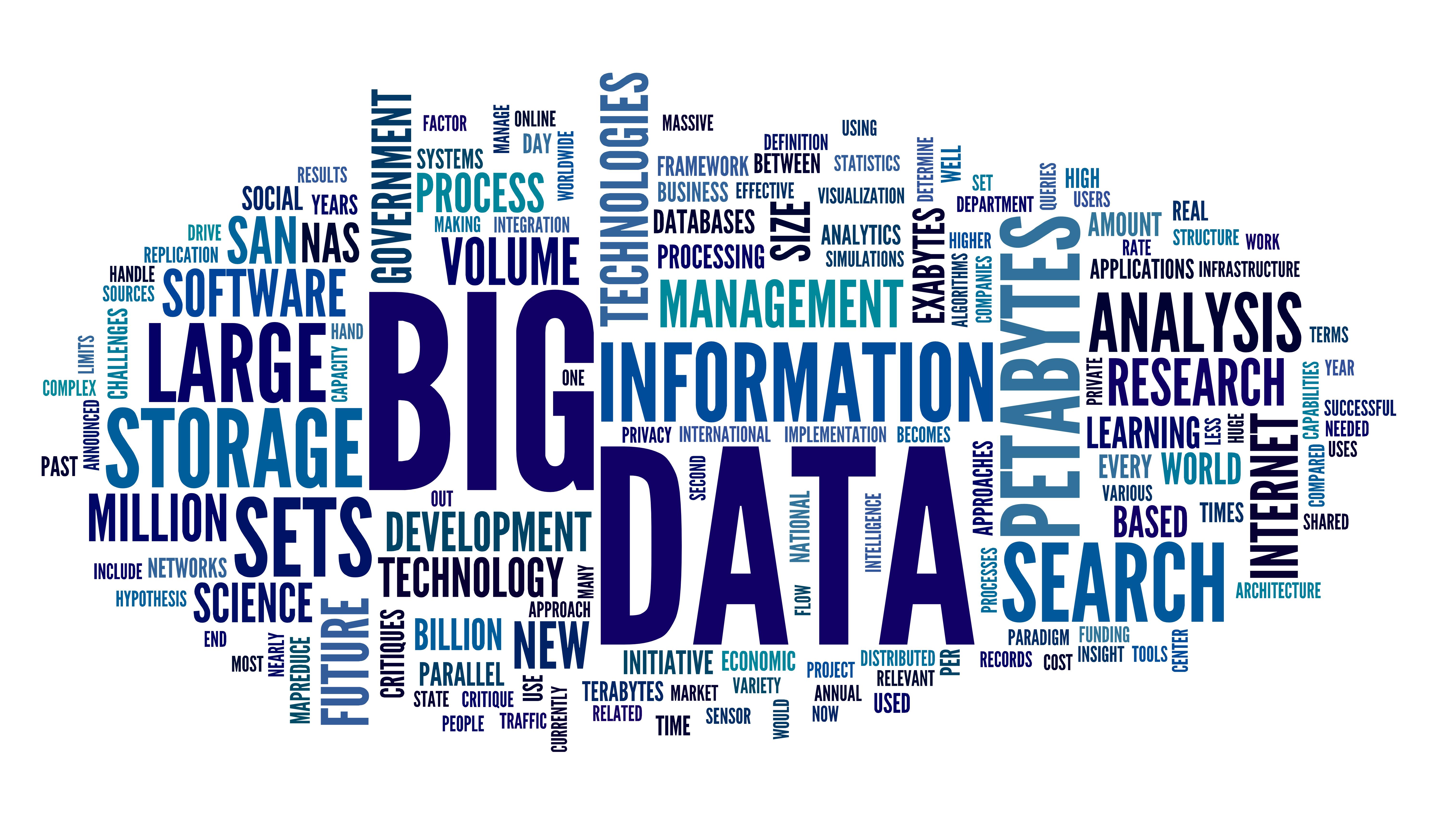 big data usado como innovación en el sector