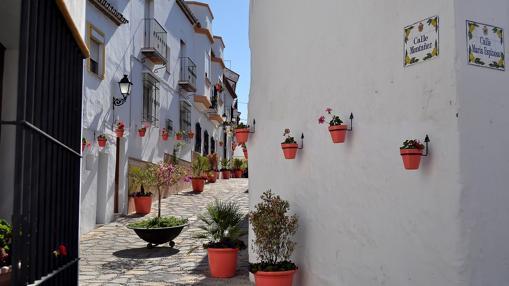 Fachada estilo andaluz, Estepona