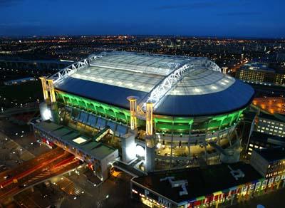 Cubierta del estadio de fútbol Amsterdam Arena