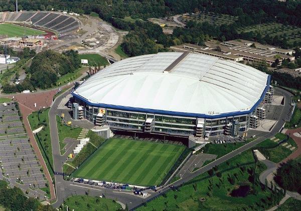 Cubierta del estadio de fútbol Veltins-Arena