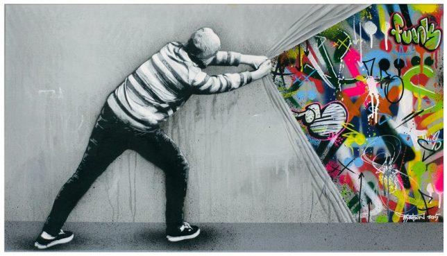 Fachada graffiti