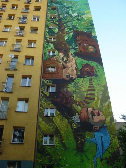 Fachada mural