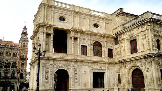 Fachadas de Sevilla El Ayuntamiento