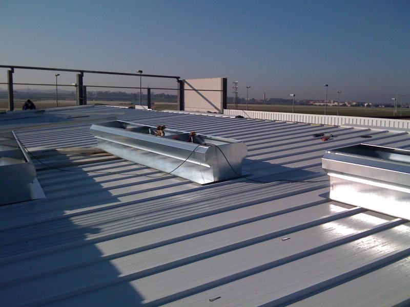 cubiertas industriales de panel