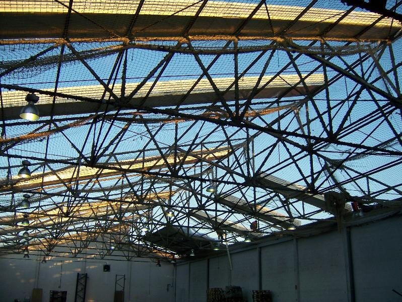 cubierta de nave industrial rehabilitada