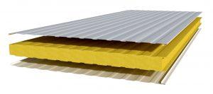 panel de sandwich