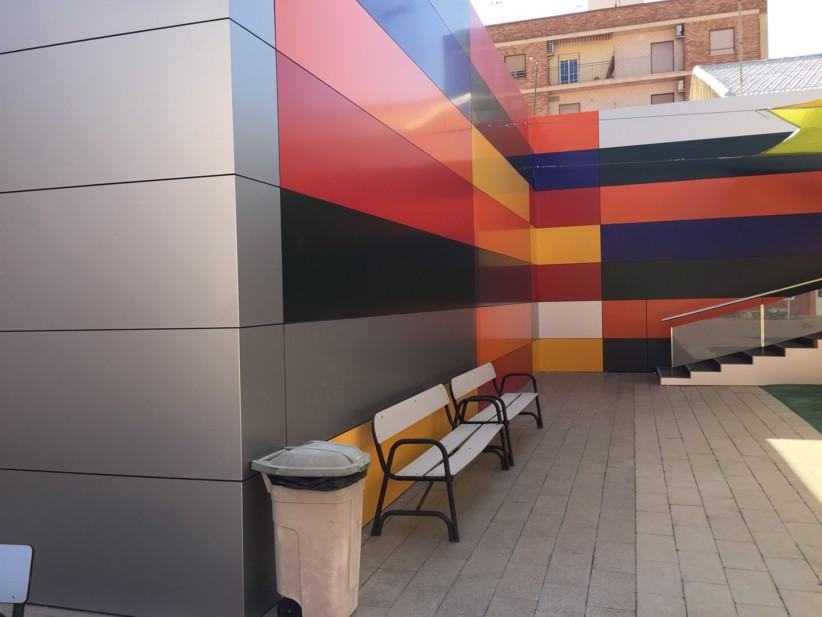fachada con composite