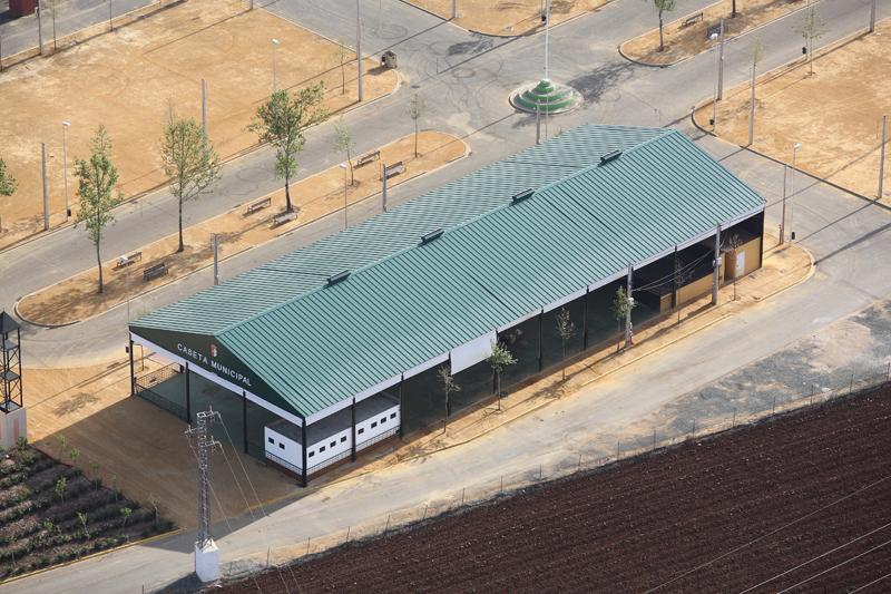 cubierta de un edificio