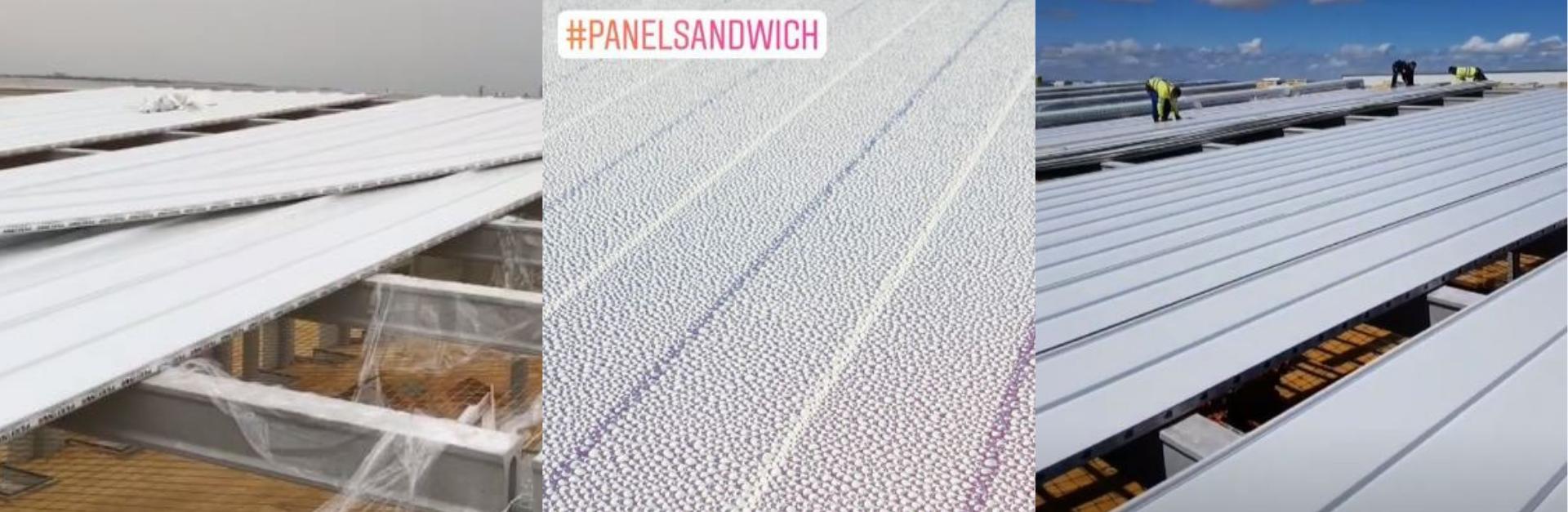 panel sandwich del trabajo para el grupo arnedo