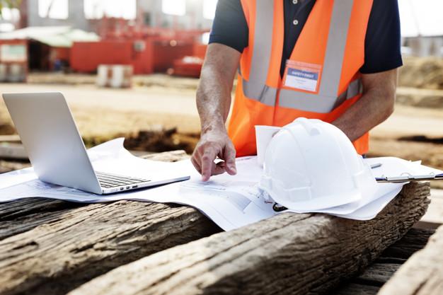 seguridad para trabajar con una fachada