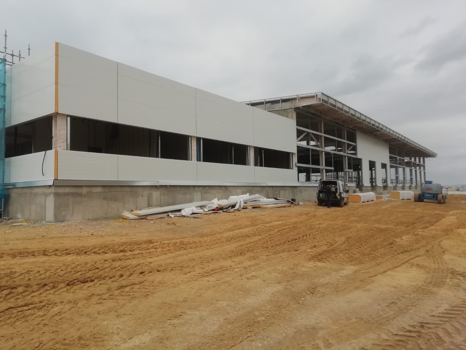 construcción de nueva obra