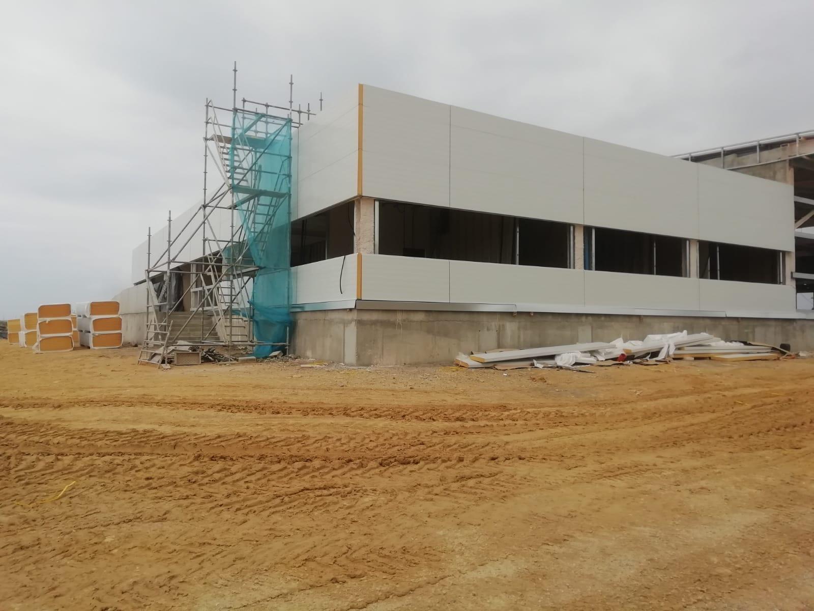 terminal de contenedores en Cádiz