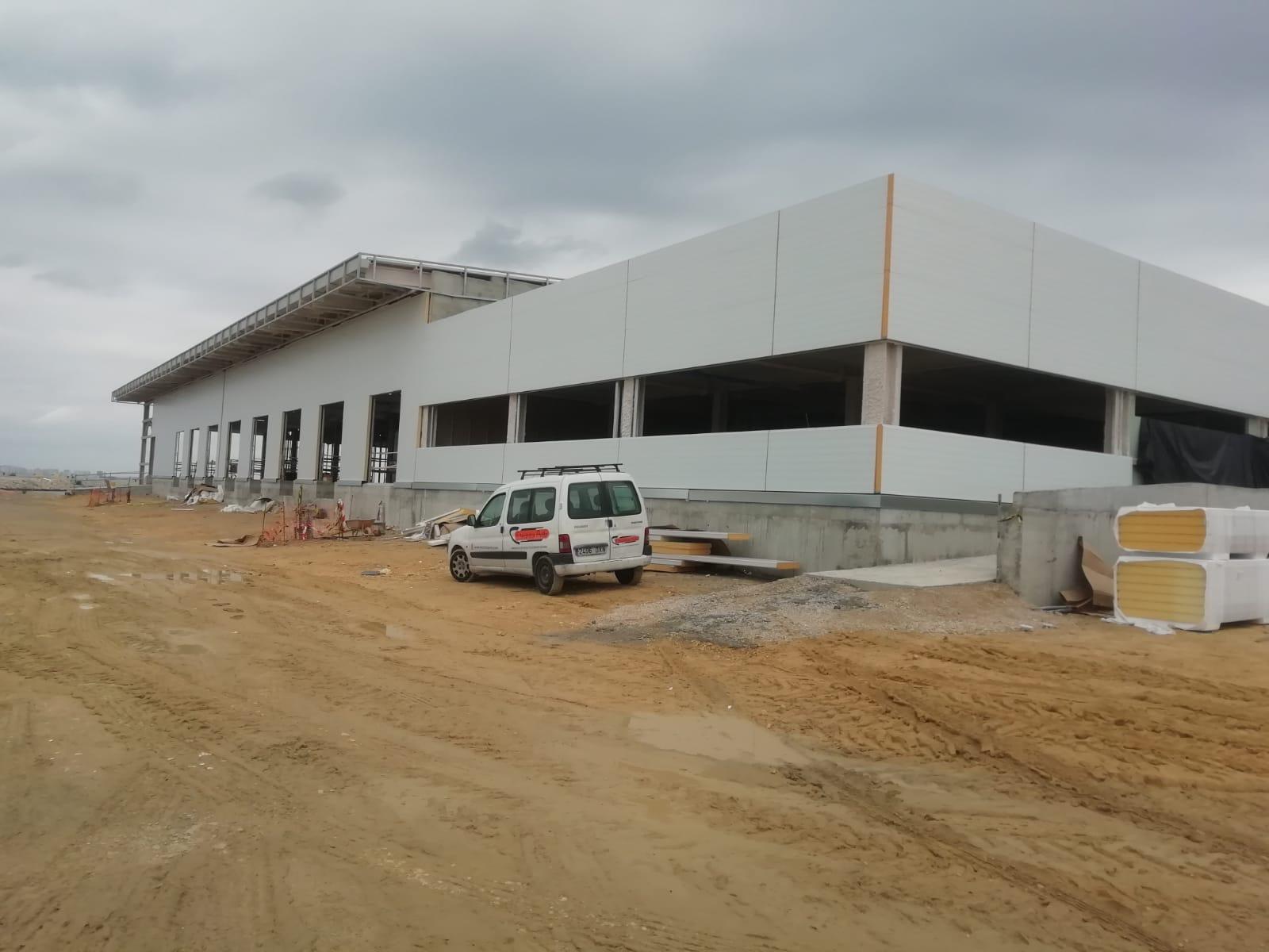 contruccion terminal de contenedores en Puerto de Cádiz
