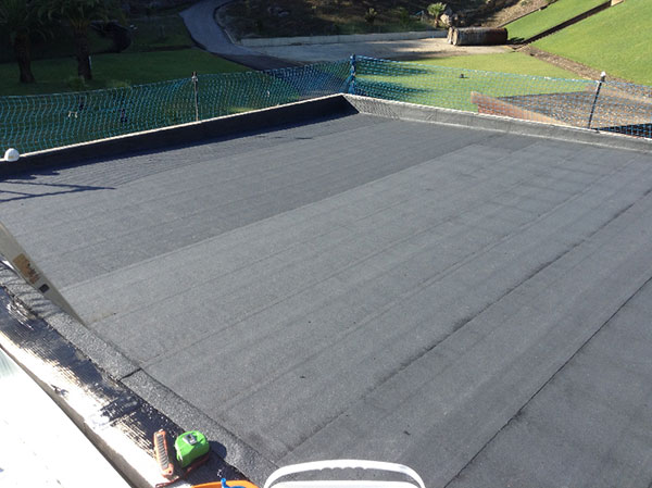 Rehabilitación de cubiertas con desmontaje de Guadarranque